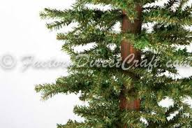 4 foot primitive alpine tree trees