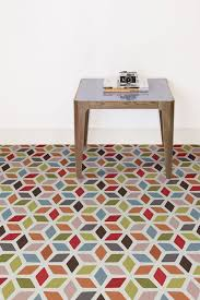 geometric pattern vinyl flooring flooring vinyl designs with colorful geometric flairs 70 s vibes