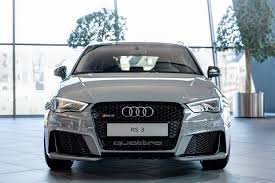 nardo grey truck nardo gray rs3 sportback by audi exclusive on display at audi