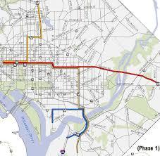 washington dc trolley map ddot unveils its vision for dc streetcar lines jdland near