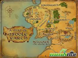 Lotr Map The Lord Of The Rings Online Review Mmohuts