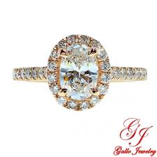 gold oval engagement rings eng01819 gold oval diamond halo engagement ring center