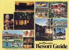 Walt Disney World Resorts Map by Gorillas Don U0027t Blog Walt Disney World U2013 Resort Guide 1977 Part 1