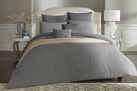 Cannon Bedding Sets Cannon 7 Comforter Set â Washed Linen Gray Products