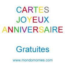 carte anniversaire enfant à imprimer gratuitement sur mondomomes com