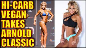 vegan fitness model wins arnold classic at 42 bite size vegan