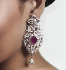 diamond earrings with price ruby chandelier earrings american diamond earrings with