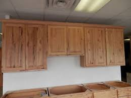 amish made kitchen islands hickory cabinets ebay