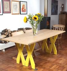 foldable dining table console double cross by steuart padwick