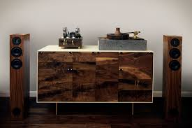 a modern credenza to house all of my diy hifi audio equipment