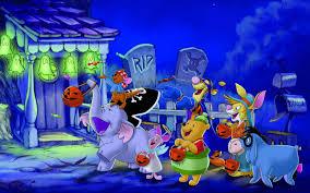 happy halloween winnie the pooh and friends u0027 hd wallpaper download