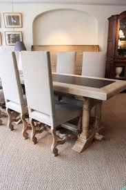 impressive mid 20th century oak u0026 slate dining table furniture
