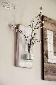 Bamboo Wall Vase Glass Bottle Wall Vase Shanty 2 Chic