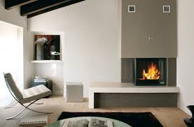 Modern Electric Fireplace Black Modern Electric Fireplace Design Feature Metal Material And