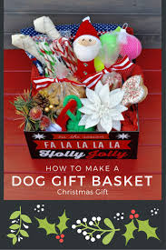 diy dog bone wreath dog gift basket make life lovely