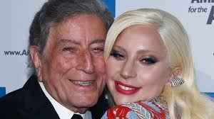 commercial lady gaga barnes and noble watch lady gaga and tony bennett meet cute at barnes and noble