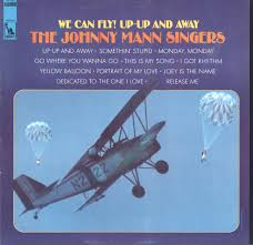you can fly the johnny mann singers we can fly up up and away lp vg nm