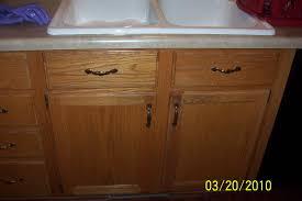 Used Oak Kitchen Cabinets Oak Cabinets Painted Fabulously Finished
