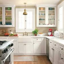 Glass For Kitchen Cabinet Best 25 Cottage Kitchen Cabinets Ideas On Pinterest Antique