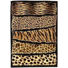 Animal Area Rugs Animal Print 5 X 7 Area Rugs Rugs The Home Depot