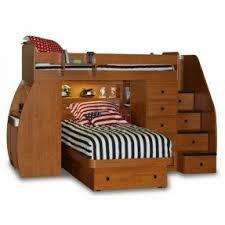 Bunk Bed With Desk And Stairs Bed With Desk Attached Foter