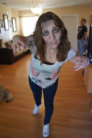 How To Do Halloween Makeup Zombie by Homemade Scary Fun The Walking Dead Zombie Costume The Rebel