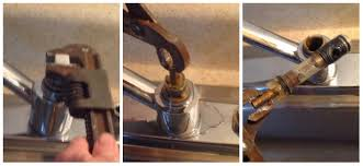 replace kitchen faucet cartridge replacing a moen 1225 kitchen faucet cartridge let s tap that