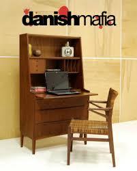 Target Secretary Desk by Mid Century Danish Modern Teak Secretary Desk Dresser Credenza