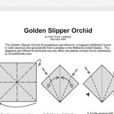 origami orchid tutorial diagrams pearltrees