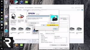 how to print a test page with your epson 1430 printer pc youtube