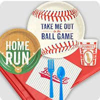 baseball party supplies baseball birthday party birthday in a box