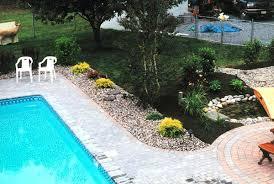 Inground Pool Landscaping Ideas Outdoor Pool Landscaping Ideas Some Basic Tips For Landscaping