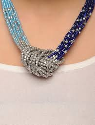 blue beads necklace images Buy blue beaded necklace online at jpg