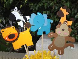 theme centerpieces jungle theme centerpieces baby shower il fullxfull 318859768