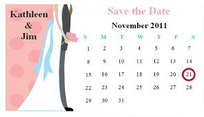 wedding save the date magnets template