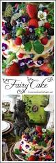 fairy cake angel food cake cut in thirds layered with lemon