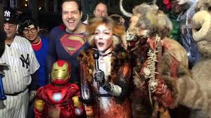 new york city halloween costumes halloween parade 2016 43rd new york city ny1 stephanie simon happy