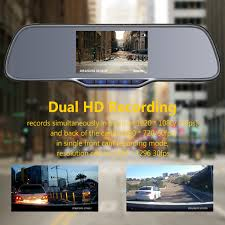 amazon com z edge z2 plus dual lens dash cam super hd 1296p