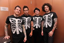fall out boy talk strangest fan mail row last meals for