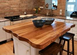 chopping block kitchen island antique longleaf pine custom wood countertops butcher block