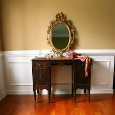 Antique Vanity Table Antique Mirrored Vanity Table Doherty House Decorate With A