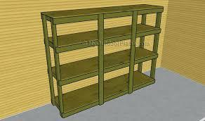 How To Build Garage Storage Cabinet by Diy Garage Storage Shelveswooden Shelves Wooden Units U2013 Venidami Us