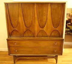 Broyhill China Cabinet Vintage Broyhill Brasilia Armoire Dresser Picked Vintage Pinterest