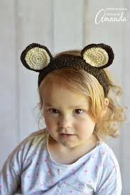 crochet headbands woodland animal ears crochet headbands family crafts