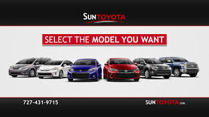 toyota offers get our best offers online at suntoyota com youtube