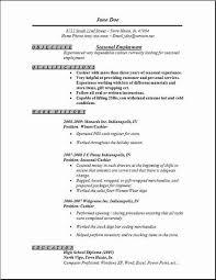 One Job Resume Sample Job Resume Berathen Com