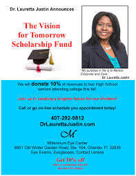 dr lauretta justin u0027s vision for tomorrow scholarship
