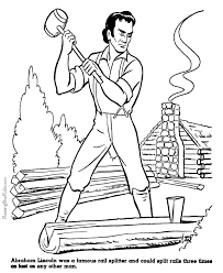 abraham lincoln history coloring pages 054