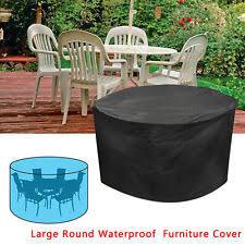 waterproof round patio table cover 100 cm diameter ebay