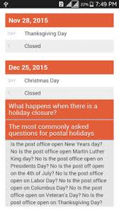 post office holidays 1 7 apk for android aptoide